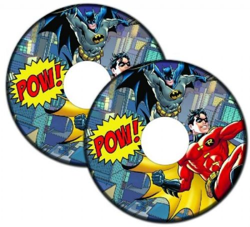 BATMAN & ROBIN Wheelchair Spoke Guards